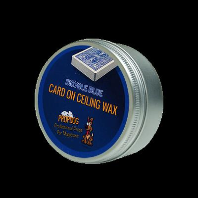 Card on Ceiling Wax 50g (blue) by David Bonsall and PropDog - Trick