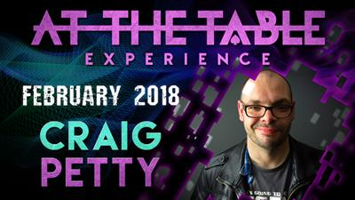 At The Table Live Lecture Craig Petty February 7th 2018 video DOWNLOAD