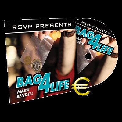 Bag4Life (1 Euro Coin and Online Instructions) by Mark Bendell and Issy Simpson - DVD