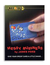 Messy business credit card trick james ford magic studio leading messy business credit card trick james ford magic studio reheart Images