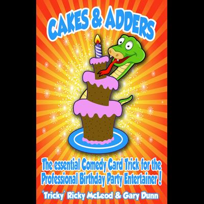Cakes and Adders (DVD and Gimmicks Poker size) by Gary Dunn and World Magic Shop - DVD