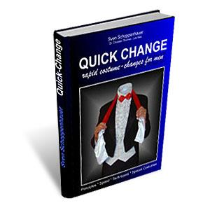 Quick Change Book (For Men) by Lex Schoppi - Book