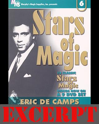 Card In Wallet Routine video DOWNLOAD (Excerpt of Stars Of Magic #6 (Eric DeCamps))