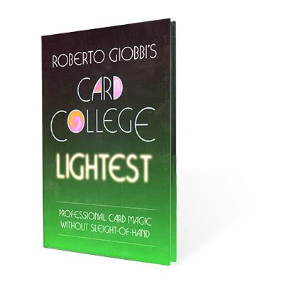Card College Lightest by Roberto Giobbi - Book