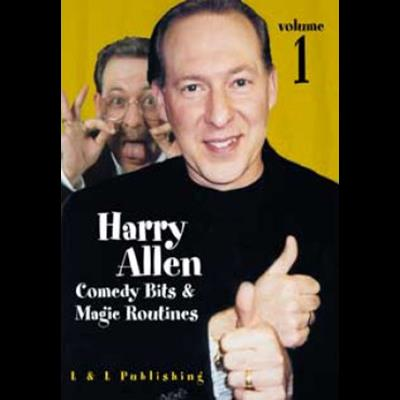 Harry allen's comedy bits and magic routines volume 2 video.