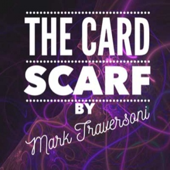 Card Scarf by Mark Traversoni
