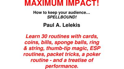 MAXIMUM IMPACT by Paul A. Lelekis eBook DOWNLOAD