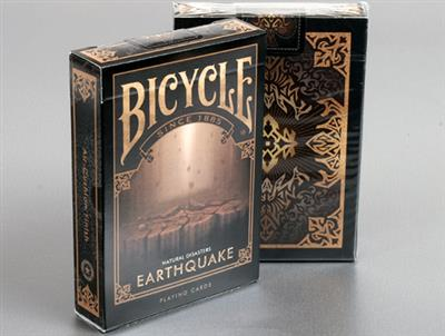 Bicycle Natural Disasters ''Earthquake'' Playing Cards by Collectable Playing Cards