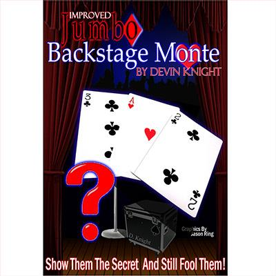 Improved Jumbo Backstage Monte by Devin Knight - Trick