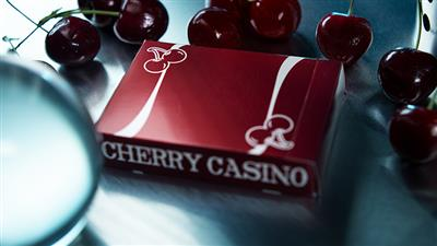 Cherry Casino (Reno Red) Playing Cards By Pure Imagination Projects