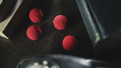 Crochet Ball Set (Red) by TCC