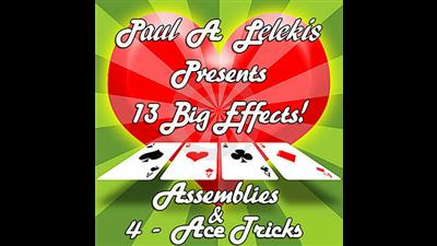 ASSEMBLIES and 4-ACE TRICKS by Paul A. Lelekis eBook DOWNLOAD