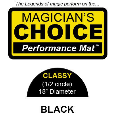 Classy Close-Up Mat (BLACK - 18 inch) by Ronjo - Trick