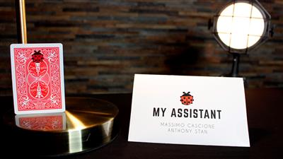 My Assistant (Gimmicks and Online Instructions) by Massimo Cascione and Anthony Stan - Trick