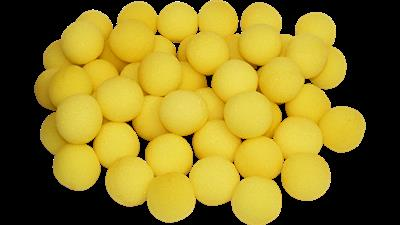 1'' Super Soft Sponge Ball (Yellow) Bag of 50 from Magic By Gosh
