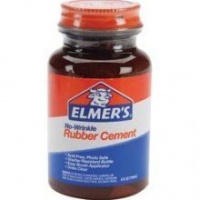 Elmers Rubber Cement 4oz Magic