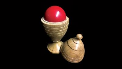 Deluxe Wooden Ball Vase by Merlins Magic - Trick