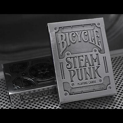 Bicycle Silver Steampunk Deck by USPCC