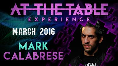 At the Table Live Lecture Mark Calabrese March 16th 2016 video DOWNLOAD