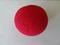 2'' Red Super Soft Sponge Balls 50mm approx Saturn Stock Magic by Gosh
