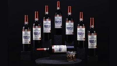 Shiraz Multiplying Wine Bottles by Tora Magic - Trick