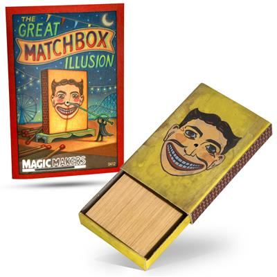 Pocket Matchbox Penetration Illusion (like Matchbox Mystery)