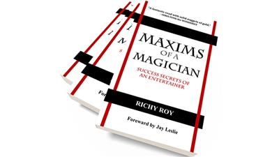 Maxims of a Magician by Richy Roy - Book