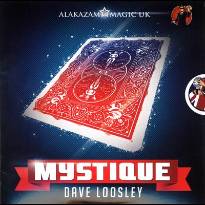 Mystique Color Changing Deck (DVD and Gimmicks) by David Loosely and Alakazam Magic - DVD