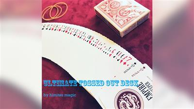 Ultimate Tossed Out Deck (Gimmicks and Online Instruction) by Himitsu Magic - Trick