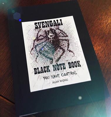 Svengali Note Book (A4 size 8.5 x 11 inch) by Alan Wong - Trick