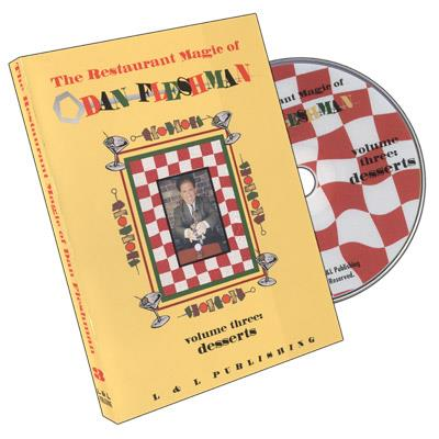 Restaurant Magic Volume 3 by Dan Fleshman - DVD
