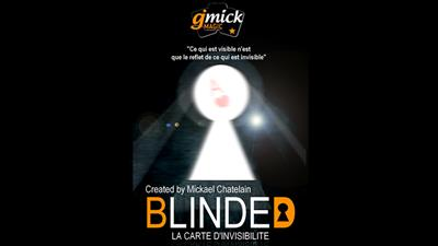 BLINDED BLUE (Gimmick and Online Instructions) by Mickael Chatelain - Trick