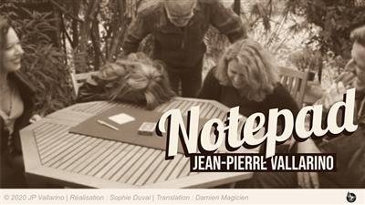 The Notepad (Gimmicks and Online Instructions) by Jean-Pierre Vallarino - Trick