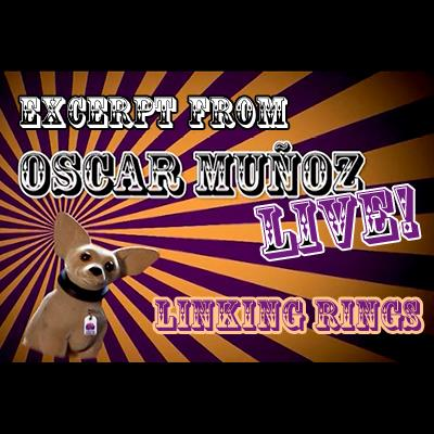 Linking Rings by Oscar Munoz (Excerpt from Oscar Munoz Live) video DOWNLOAD