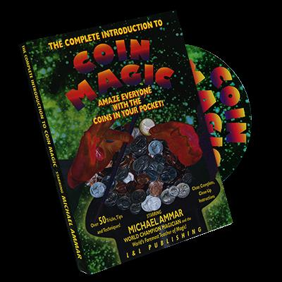 Complete Intro to Coin Magic by Michael Ammar - DVD