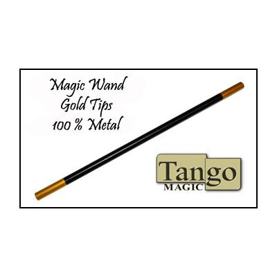 Magic Wand in Black (with gold tips) by Tango (W002)