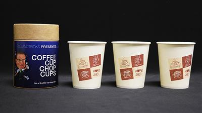 Coffee Cup Chop Cup (Cups Only) by Leo Smetsers - Trick