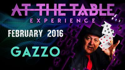 At the Table Live Lecture Gazzo February 3rd 2016 video DOWNLOAD