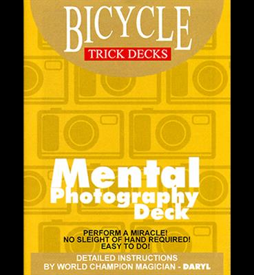 Mental Photo Deck Bicycle (Red) - Trick