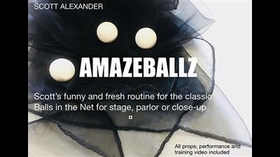 Amazeballz (Gimmicks and Online Instructions) by Scott Alexander and Puck - Trick
