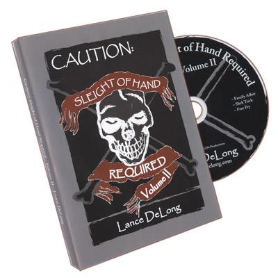 Sleight of Hand Required Volume 2 by Lance DeLong - DVD