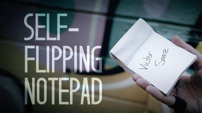 Self-Flipping Notepad (DVD and Gimmick) by Victor Sanz - DVD