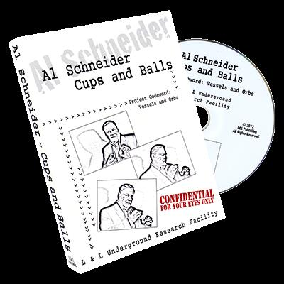 Al Schneider Cups & Balls by L&L Publishing - DVD