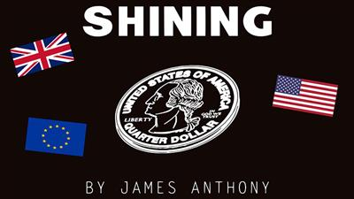 Shining U.S.(Gimmicks and Online Instructions) by James Anthony - Trick