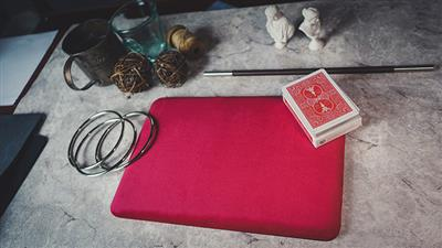 Suede Leather Mini Pad (Red) by TCC - Trick