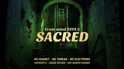 Sacred by Esya G video DOWNLOAD