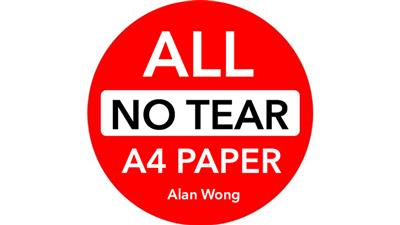 No Tear Pad (Extra Large, 8.5 X 11.5 '') ALL No Tear by Alan Wong - Trick