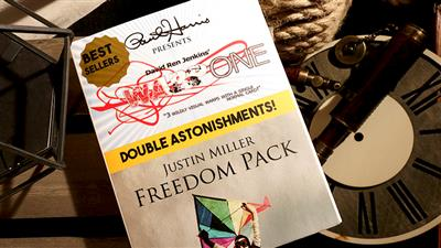 Paul Harris Presents Warp One/Freedom Pack Double Astonishments by Justin Miller & David Jenkins - Trick