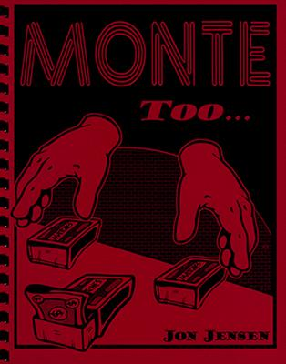 Monte Too by Jon Jensen - Book