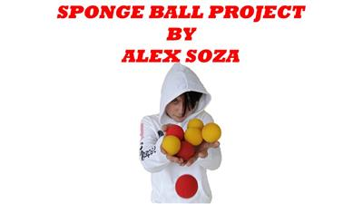 Sponge Ball Magic by Alex Soza video DOWNLOAD